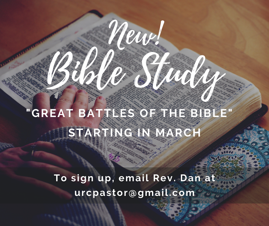 March Bible Study